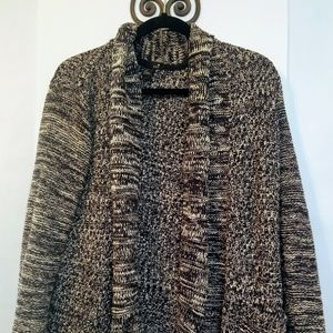 XXi Black & White Over Sized Sweater Sz S